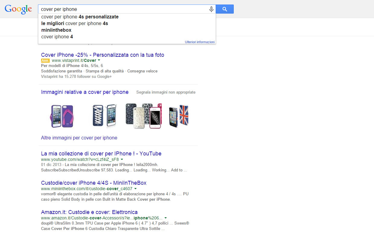 Cerca con Google Cover Iphone