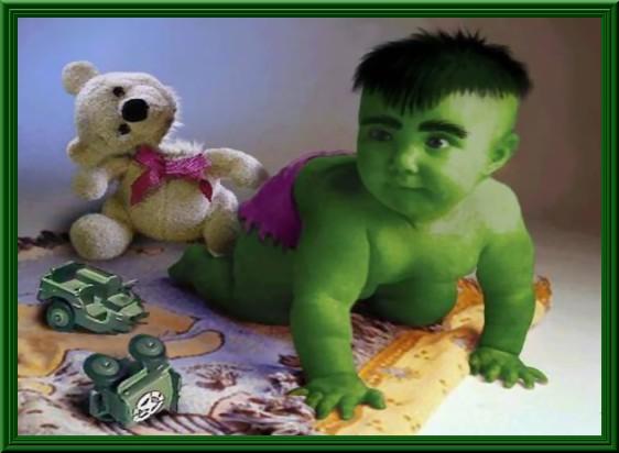 bambino  hulk