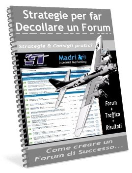 Strategie per far decollare un forum