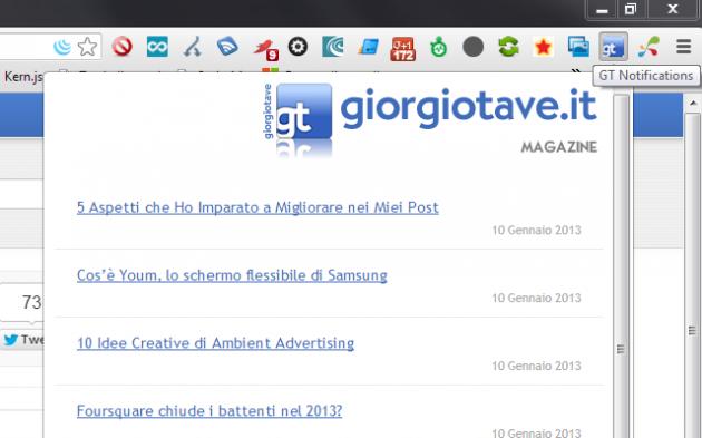 giorgiotave notifications